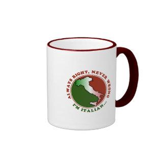 Stubborn Italian Funny Mug