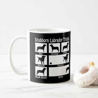 Stubborn Labrador Retriever Dog Tricks V2 Coffee Mug