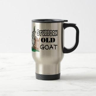 Stubborn Old Goat Travel Mug