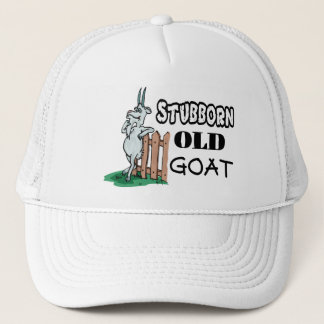 Stubborn Old Goat Trucker Hat