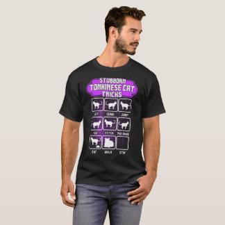 Stubborn Tonkinese Cat Funny Tricks Tshirt