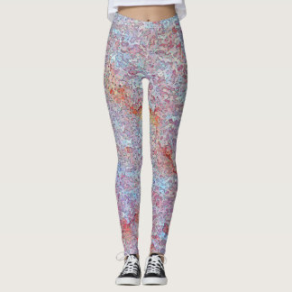 Stucco Blue Mist Leggings