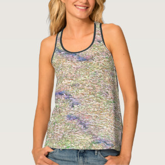 Stucco Green Sea Tank Top