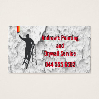 Stucco Painting Service Business Card