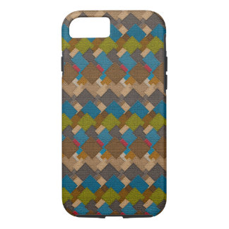 Stucco Tiles Color Art Design iPhone 7 Case