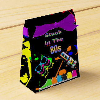 Stuck in the 80s favor box