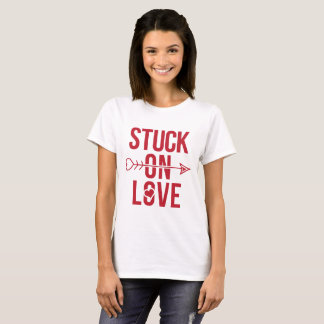 Stuck on Love Valentine's Day Tee Shirt