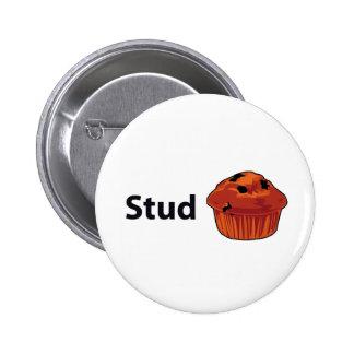 Stud Muffin 2 Inch Round Button