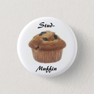 Stud-Muffin badge 1 Inch Round Button