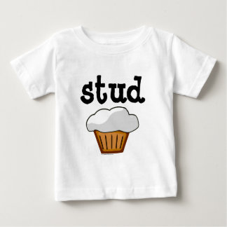 Stud Muffin, Cute Funny Baked Good Baby T-Shirt