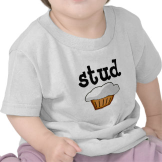 Stud Muffin Cute Funny Baked Good Tee Shirt