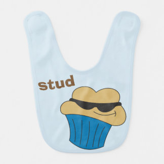 Stud Muffin Personalized Baby Bibs