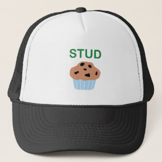stud muffin trucker hat