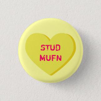 STUD MUFN 1 INCH ROUND BUTTON
