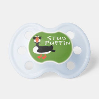 Stud Puffin Pacifiers