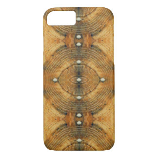 Studded Floor Pattern in Golden Browns iPhone 8/7 Case