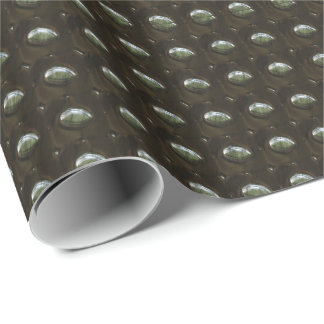 Studded Leather 2 Wrapping Paper