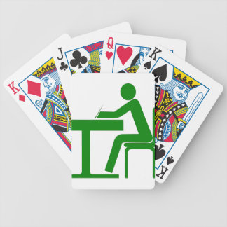 Student Bicycle Playing Cards