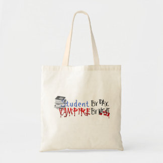 Student by Day, Vampire by night Tote Bag