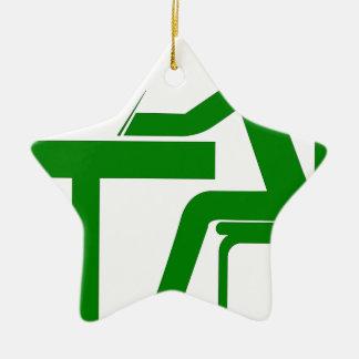 Student Ceramic Ornament