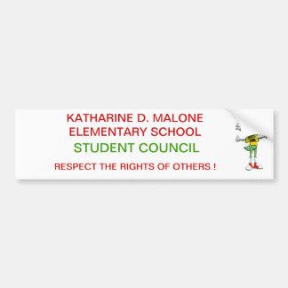 Student Council Bumper Sticker