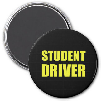 Student Driver Caution Magnet