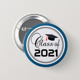 Student Graduate - Class of 20XX 2 Inch Round Button