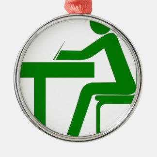 Student Metal Ornament