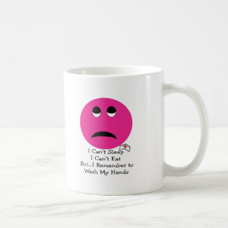 Student Nurse BIG PINK SMILEY Gfits--Adorable Classic White Coffee Mug