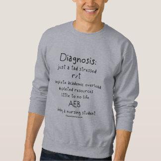 Student Nurse Diagnosis - Just a Tad Stressed Sweatshirt