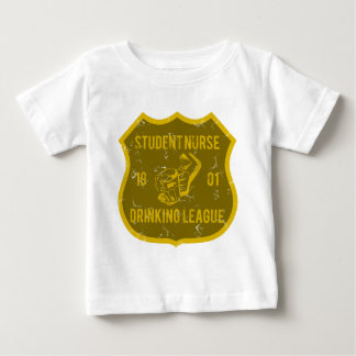 Student Nurse Drinking League Baby T-Shirt
