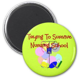 Student Nurse gifts Refrigerator Magnet