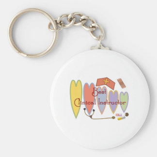 Student Nurse/Instructor gifts Basic Round Button Keychain