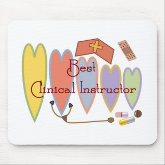 Student Nurse Instructor gifts Mousepads