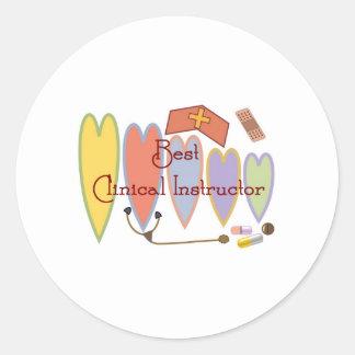 Student Nurse/Instructor gifts Round Stickers