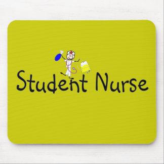 Student Nurse Stick Person Mouse Pad
