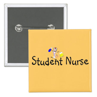 Student Nurse Stick Person Pins