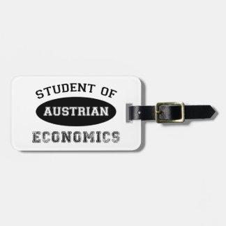 Student of Austrian Economics Bag Tag