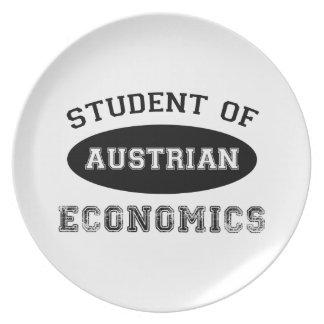Student of Austrian Economics Dinner Plate