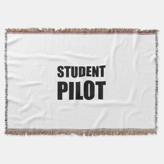 Student Pilot Caution Throw