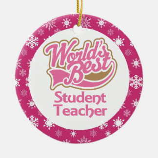 Student Teacher Gift Ornament