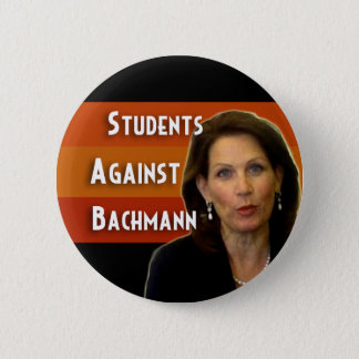 Students Against Bachmann campaign button