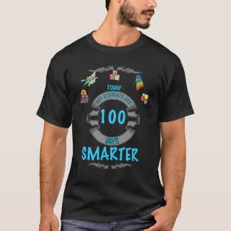 Students Survived School in 100 Days Black T-shirt