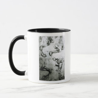Studies of Horses legs Mug