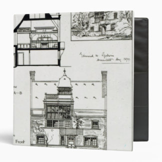 Studio and Cottage for Miss Rosa Corder Binders
