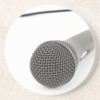 Studio Microphone Beverage Coaster