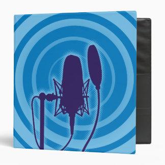 Studio Microphone Vinyl Binders