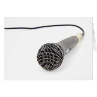 Studio Microphone Card