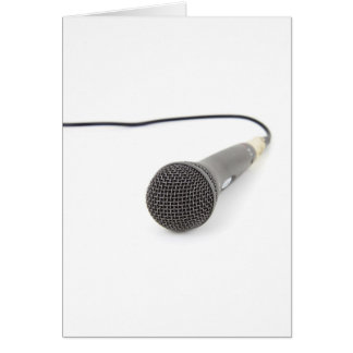 Studio Microphone Card