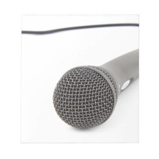 Studio Microphone Notepad